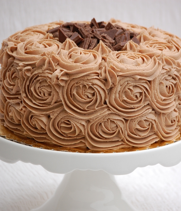 Mocha Buttercream Swirls