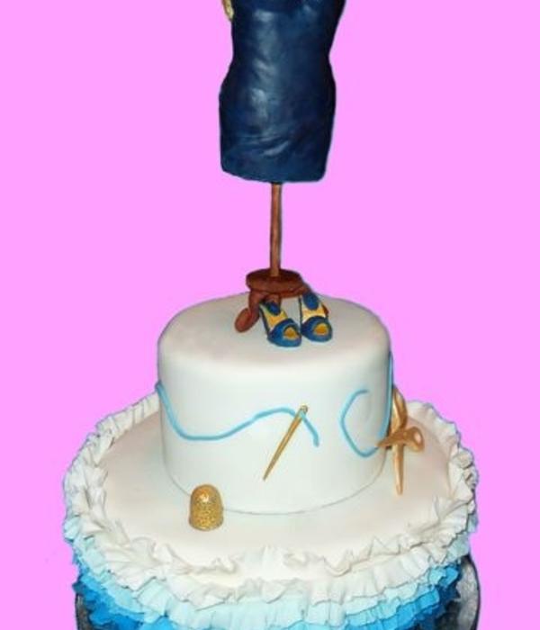 Dress Cake Decorating Photos