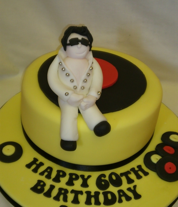 Elvis Cake Decorating Photos