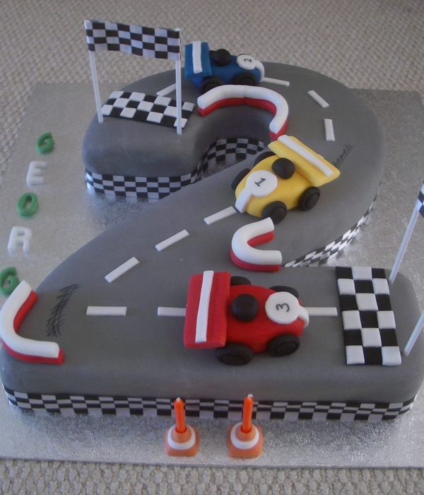 Boys 2Nd Birthday Cake - CakeCentral.com