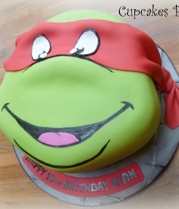 Teenage Mutant Ninja Turtle Cake X