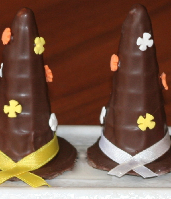 Chocolate Witches Hats
