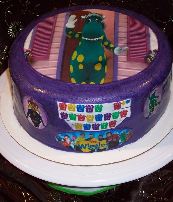 The Wiggles Themed Birthday Cake - Dorothy The Dinosaur