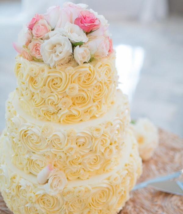 Top Buttercream Rosette Cakes - CakeCentral.com