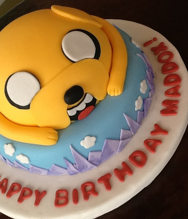 Adventure Time Themed Cake