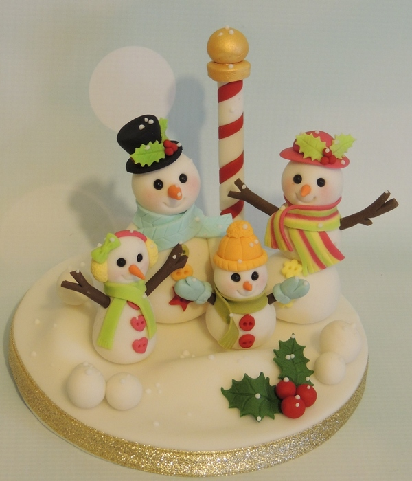 Snow Family Topper