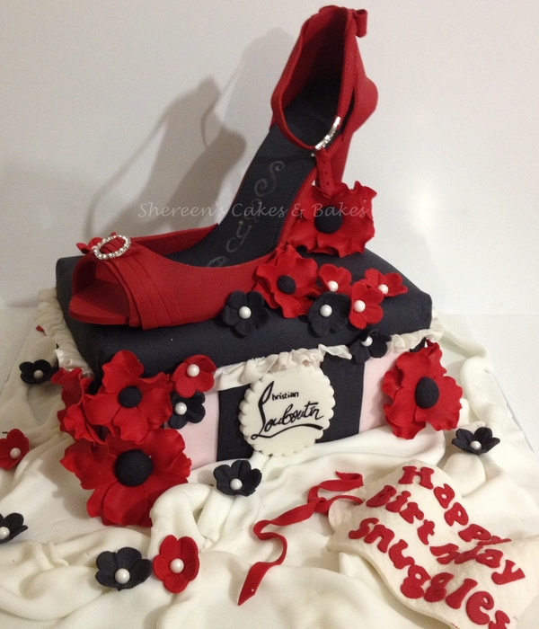 shoe box cake tutorial