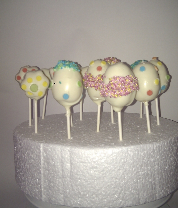 Various Cakepops I've Made