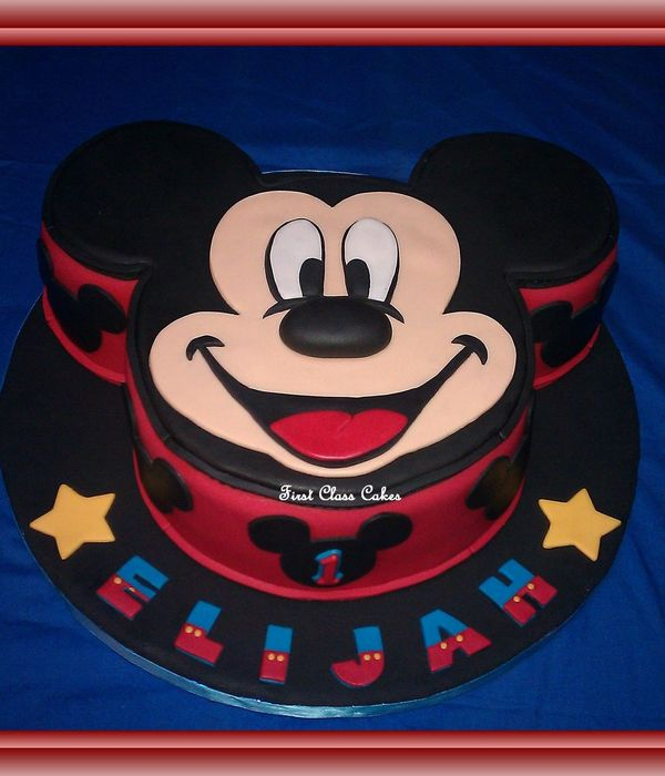 Mickey Mouse Cream Cake