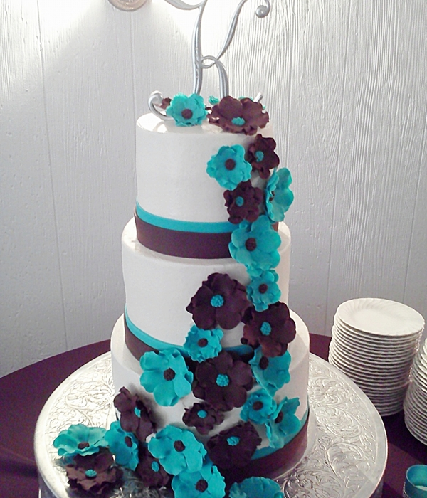 This Cake Was Made For A Good Friends Daughters Wedding...