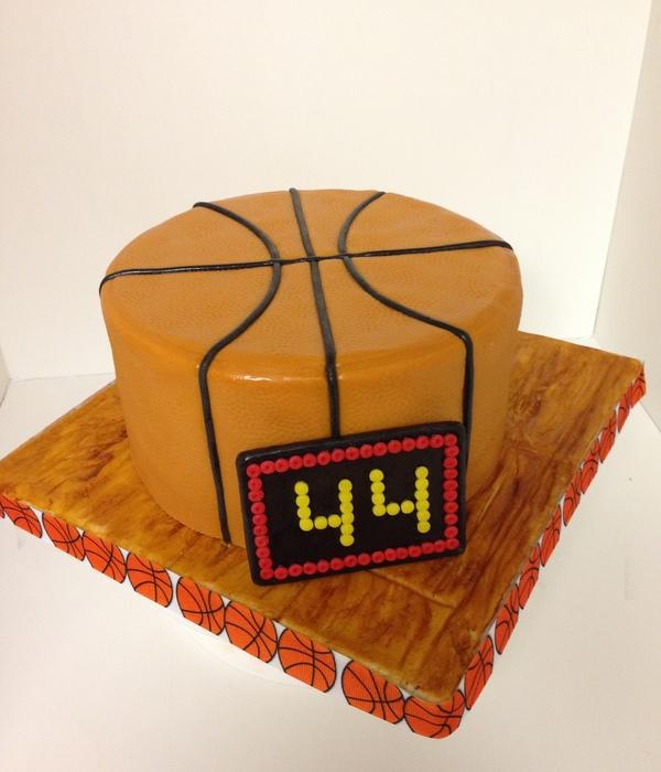 Top Basketball Cakes Cakecentral Com