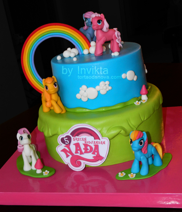 little pony cake top my pony cakes cakecentral 5565