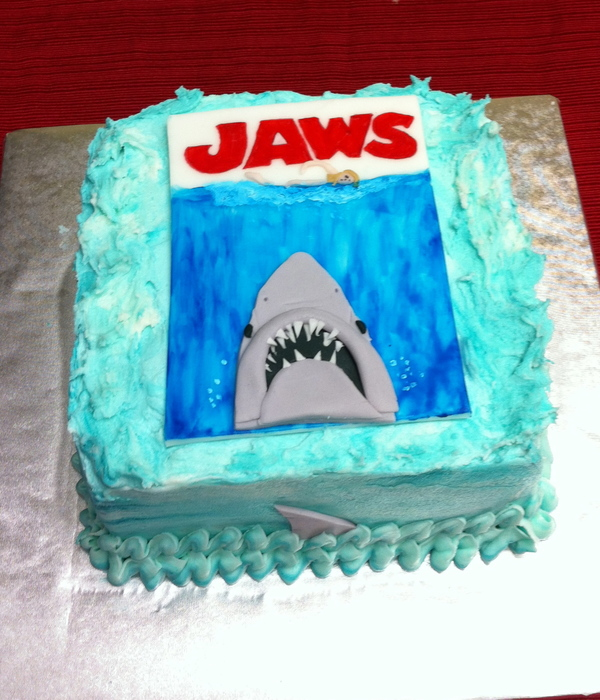 Shark Cake Decorating Photos