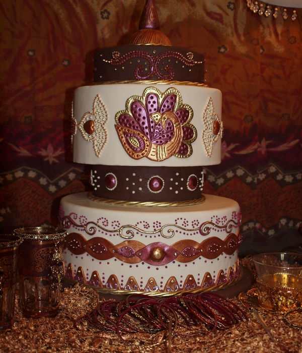 My Mehndi Cake Design