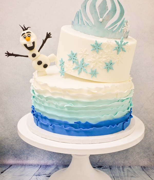 Awesome Silly Olaf Frozen Birthday Cake Cakecentral Com Personalised Birthday Cards Sponlily Jamesorg