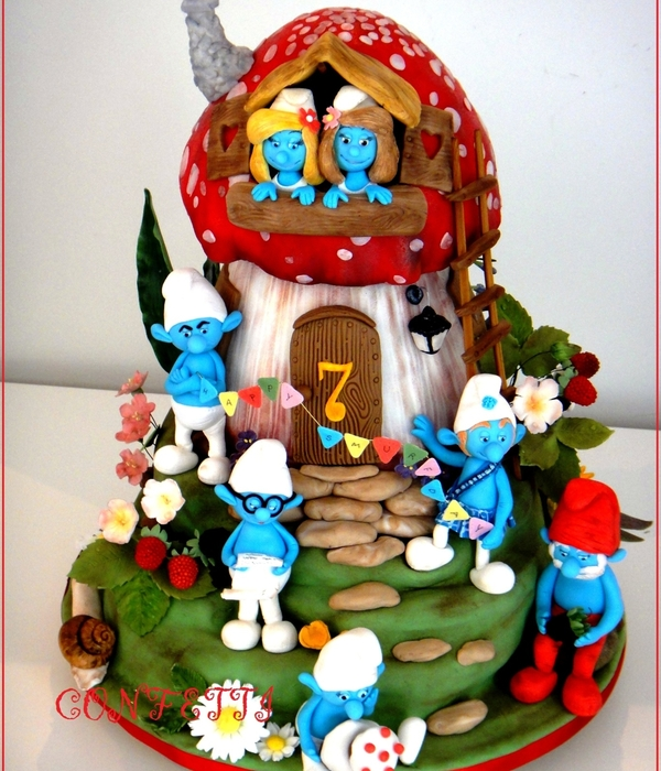Happy Smurfday!
