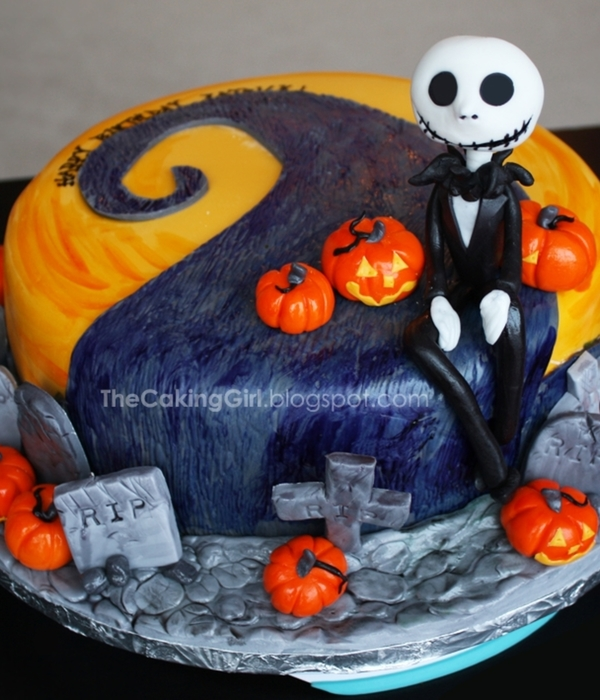 Cake Decorations For Nightmare Before Christmas Baby Shower