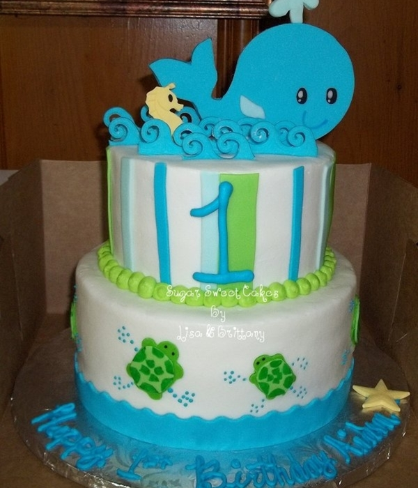 Turtles, Whales, & A Seahorse ~ 1St Birthday