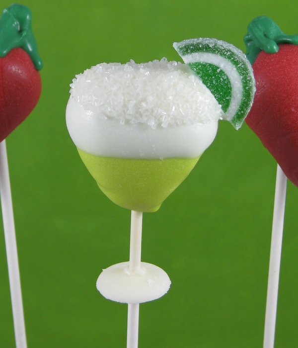 Cinco De Mayo Cake Pops!