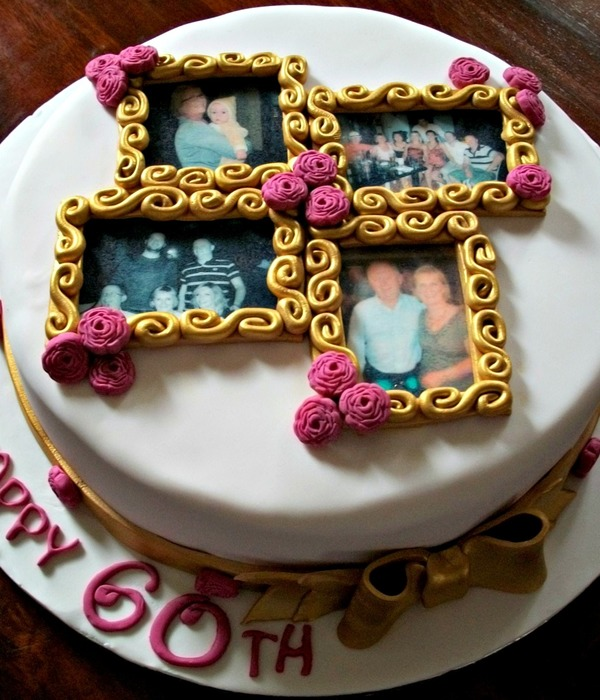 Top Picture Frame Cakes