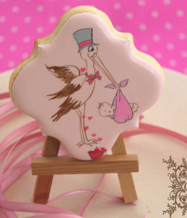 Hand Painted Royal Icing Decorated Cookie