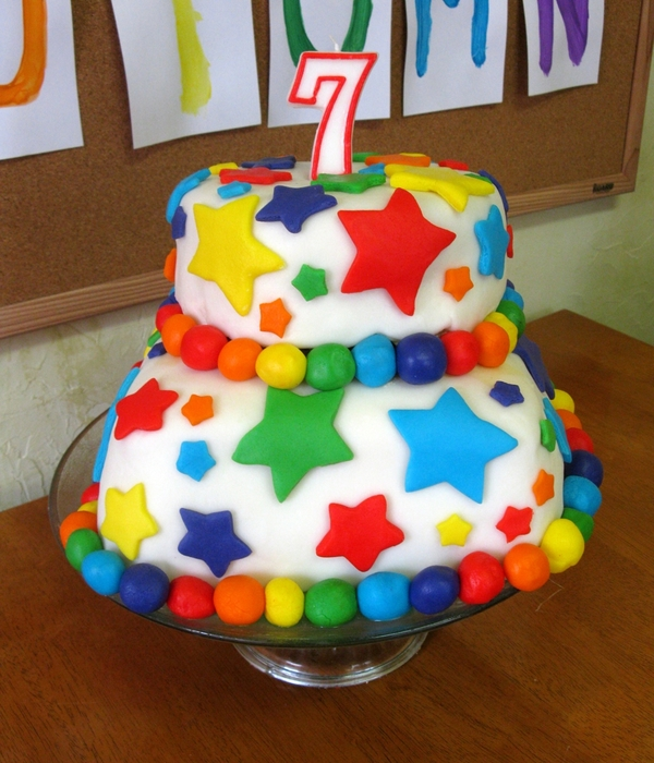 Marshmallow Fondant Cake Decorating Photos