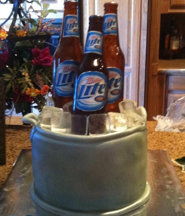 Beer Bottle Cake Decorating Photos Mesmerizing Decorated Alcohol Bottles For Birthday