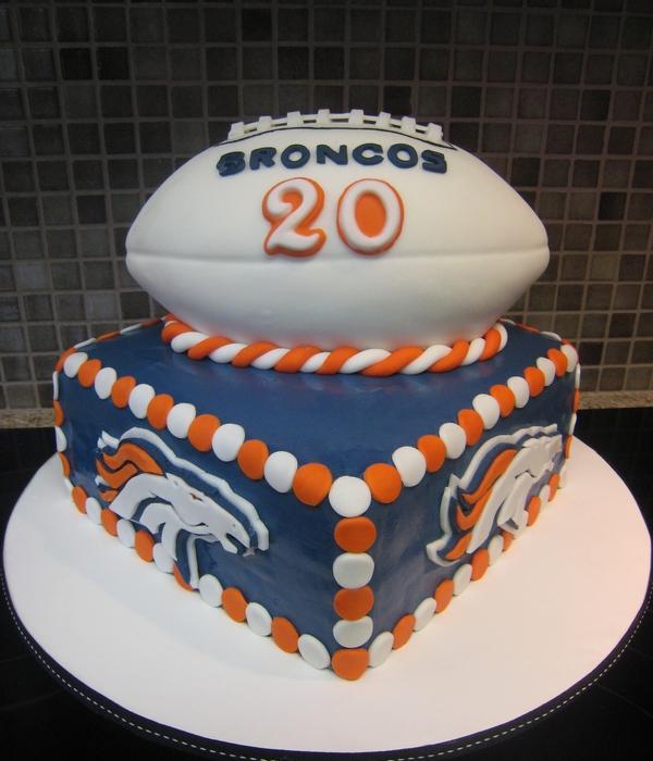Top Denver Broncos Cakes CakeCentralcom