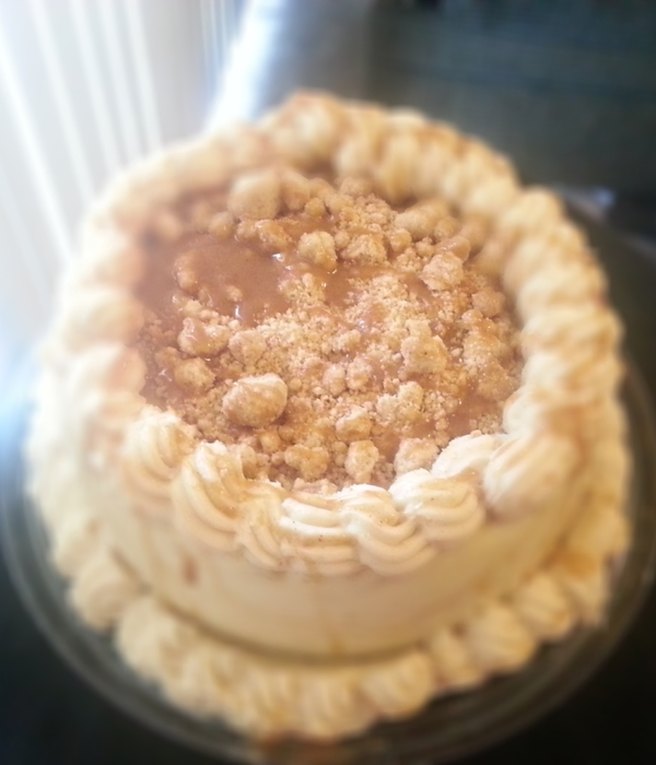 Apple Of My Pie Cheesecake Butter Cake Crust Sweet Cream...