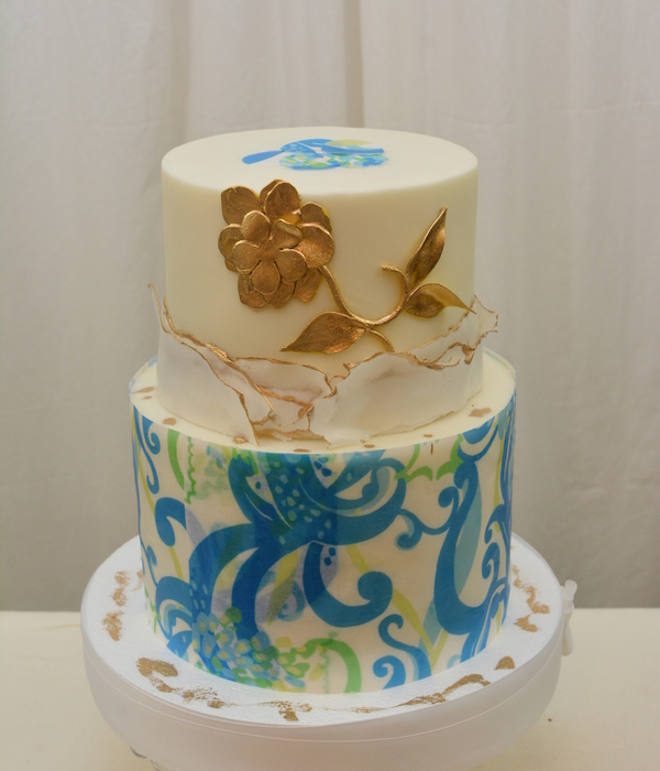 Butterceam Finish Wafer Paper And Fondant Accents