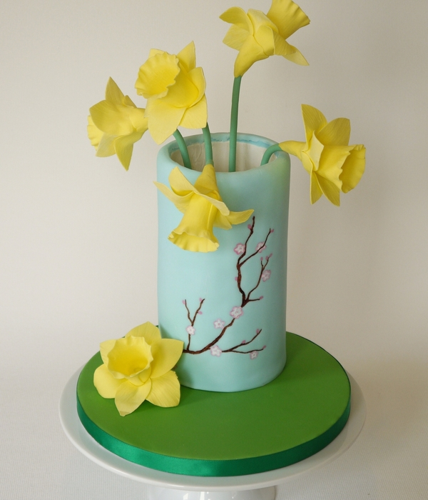 Edible Daffodils For Cakes