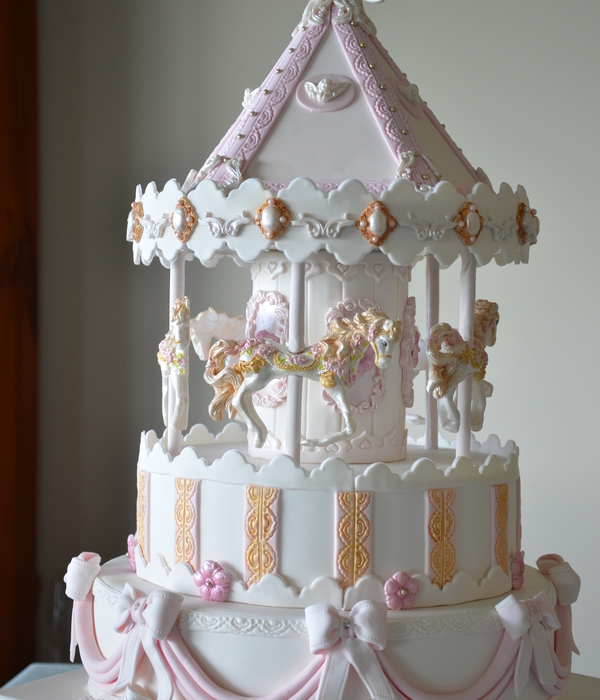 This Is My Version Of A Carousel Cake