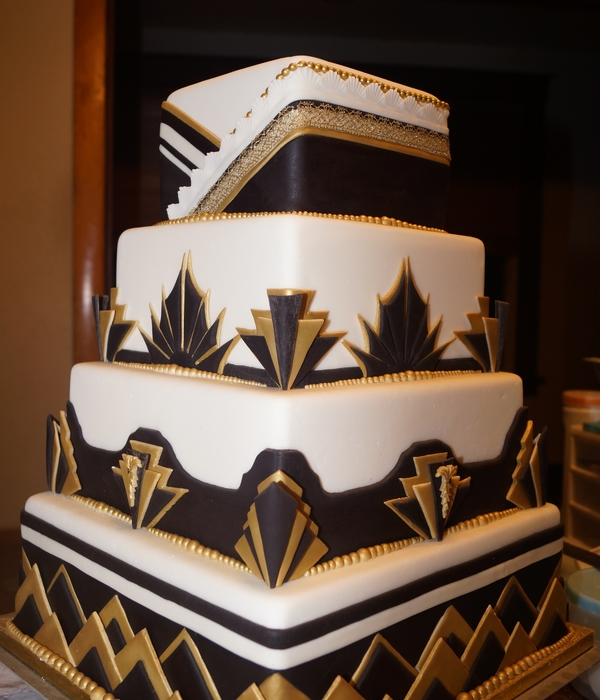 Art Deco Cake Decorating Ideas