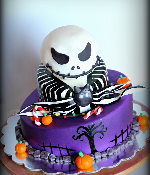 jack from nightmare before christmas cake - Nightmare Before Christmas Birthday Decorations