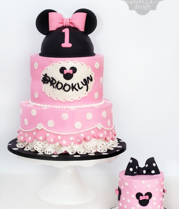 Top 25 Minnie Mouse Birthday Cakes CakeCentralcom