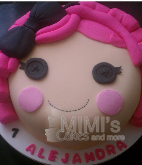 Cake Inspired In Lalaloopsy