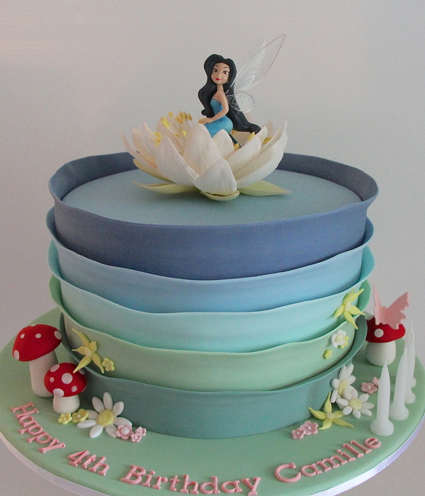 Silvermist Pixie Hollow Cake