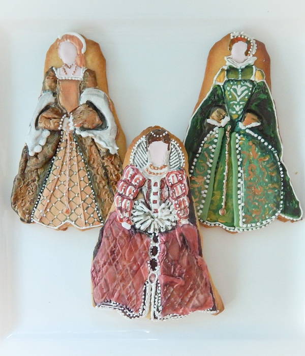 Tudor Dress Cookies