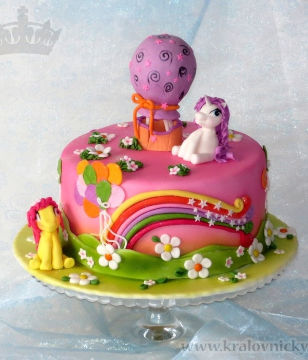 My Little Pony With Balloons