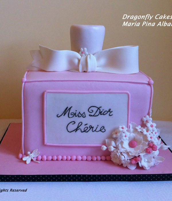 Miss Dior Cherie Cake Chocolate Fudge Cake With Apricot...