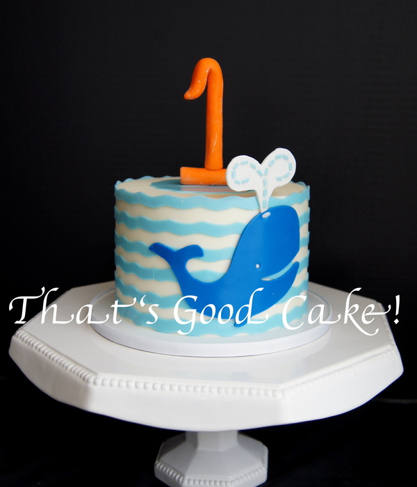 1St Birthday Whale Of A Time