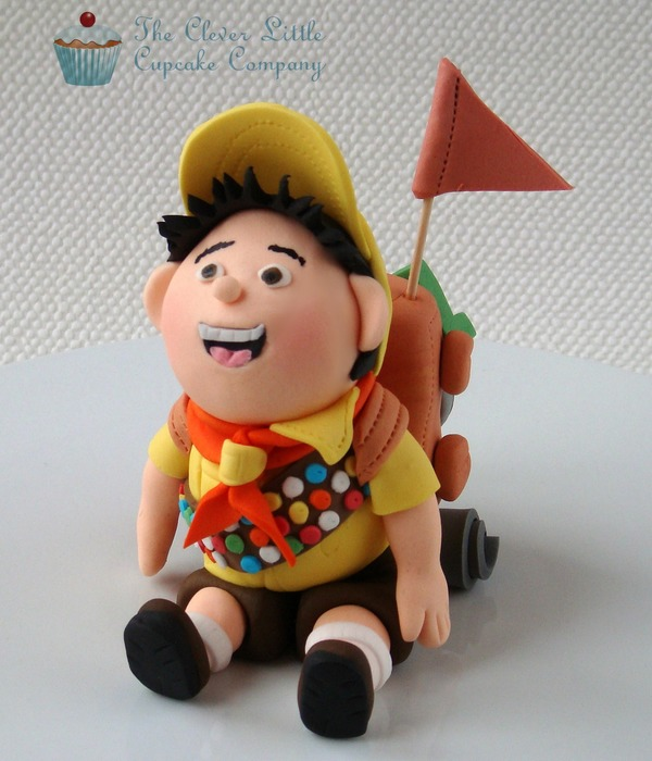 "Russell From Disney's ""up"" Fondant Figure"