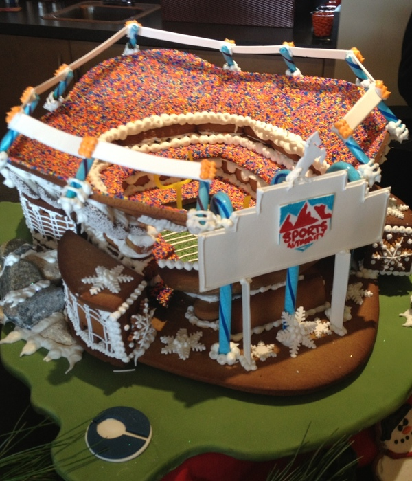 2012 Broncos Gingerbread Stadium