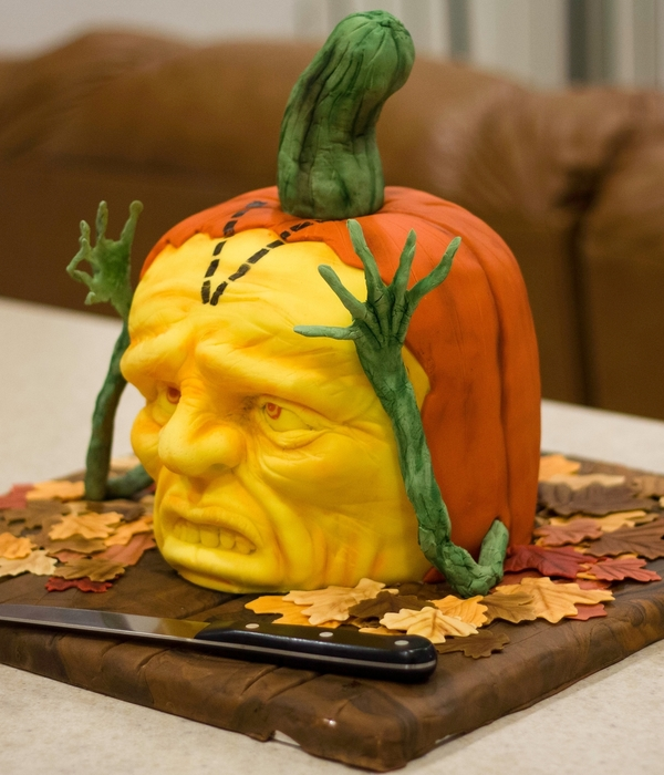 Halloween Cake - Cake Outside The Box