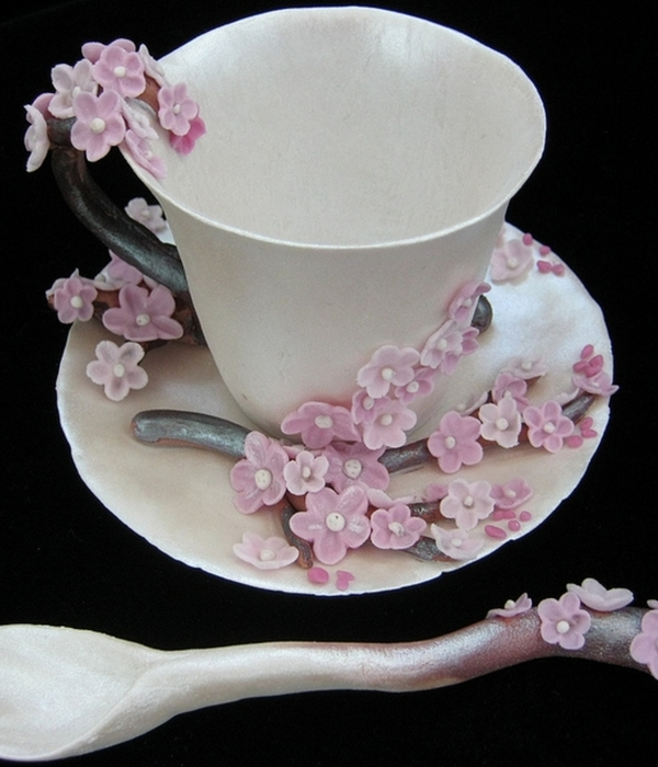 "Tea Cup ""cherry Blossoms"""