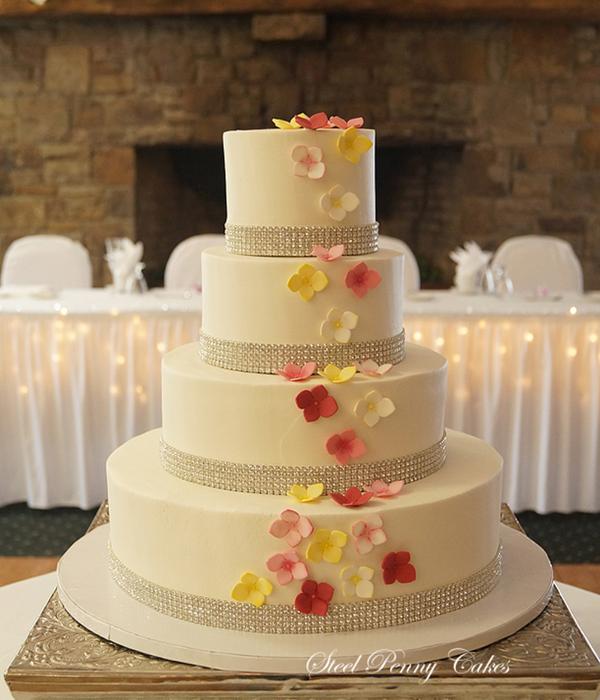 Rhinestone Cake Decorating Photos