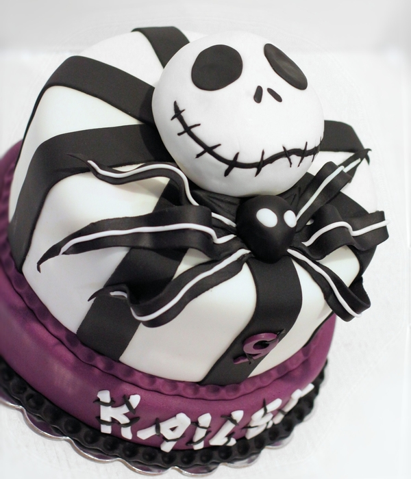 Nightmare Before Christmas Girly Cake