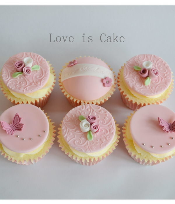 Mother's Day Cupcakes (Uk)