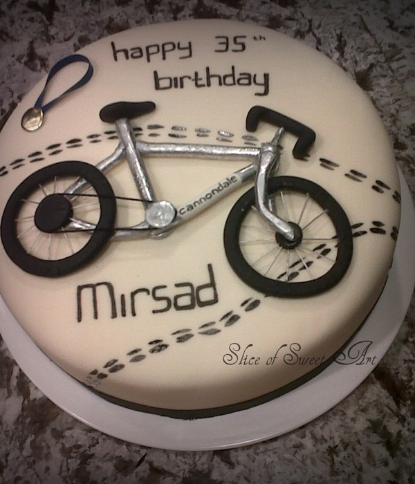 Cyclist Birthday Cake Cakecentral