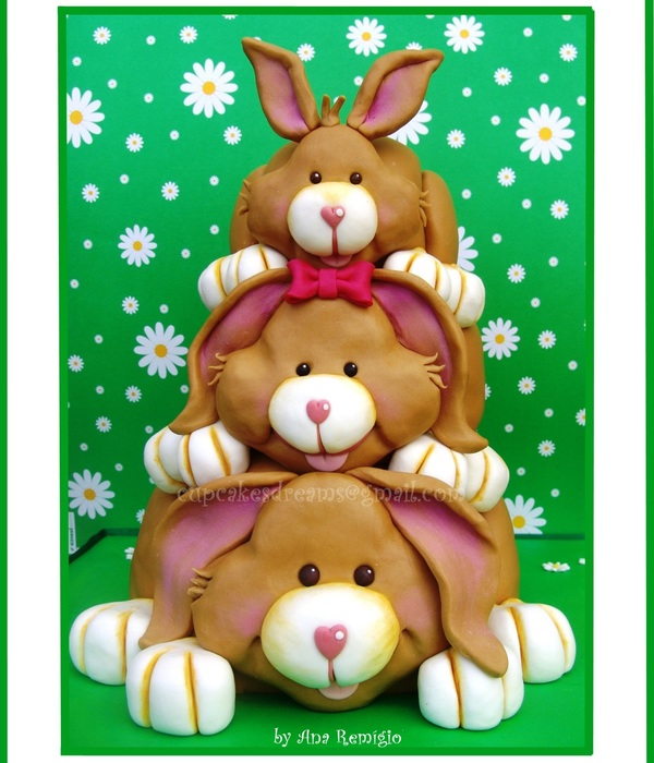 Easter Bunnys For My Birthday...
